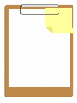 Free photo White Design Clipboard Icon Clipart Note Paper - Max Pixel