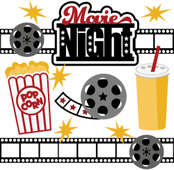 28+ Collection of Family Movie Night Clipart Free | High quality ...