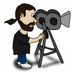 28+ Collection of Movie Director Clipart | High quality, free ...