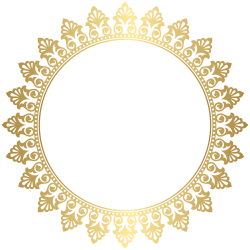 Round Border Frame Clip Art PNG Image | PNG GOLD | Pinterest | Round ...