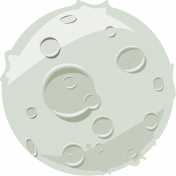 Moon Clipart - Graphics of Moons, Lunar Phases & More!