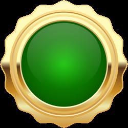 Clip art - Seal Badge Green Gold PNG Clip Art Image 8000*8000 ...