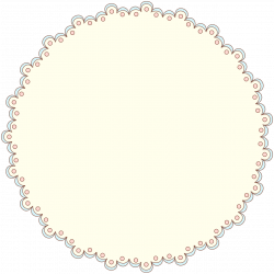 Free Doily Clipart & Designer Resources – Adapted from Vintage ...