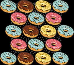 Bread Poster Clip art - Donut bread background pattern 2955*2610 ...