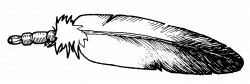 Eagle Feather Drawing Clipart - Clipart Kid | feathers | Pinterest ...