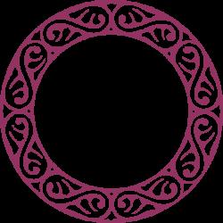Scroll Circle Clip Art at Clker.com - vector clip art online ...