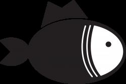 Clipart - Kitchen Icon - Fish