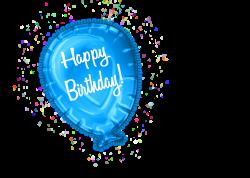 Happy Birthday Balloon Clipart CU – CuteCrafting