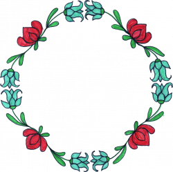 Flower Circle Drawing at GetDrawings.com   Free for personal use ...