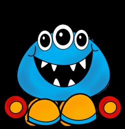 CH B *✿* Monster Clip Art Cartoon Free Clipart Images | CLIPART ...