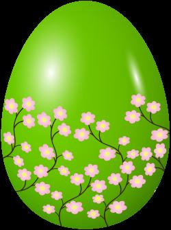 Easter Spring Egg Green Clip Art Image | Gallery Yopriceville ...
