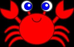Cute Red Crab Clip Art - Free Clip Art | Templates 2 | Pinterest ...