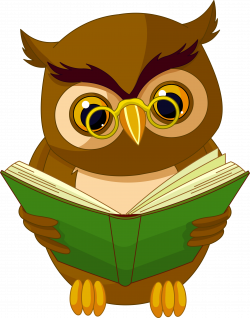 Transparent Owl with Book PNG Clipart Picture | Картинки | Pinterest ...