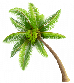 Green Palm Tree PNG Clipart | Planner Happiness | Pinterest | Palm ...