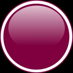 purple circle   Glossy Purple Circle Button clip art - vector clip ...