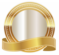 Gold Seal with Gold Ribbon PNG Clipart Image | Gallery Yopriceville ...