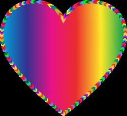 Multicolored Arrows Heart Filled by GDJ | VALENTINE | Pinterest ...