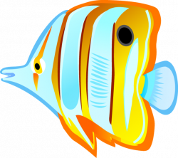 Ocean With Fish Clipart Tropical fish # · clipart | Education/School ...