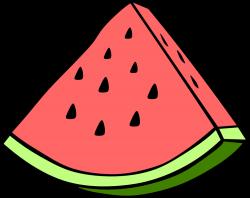 OnlineLabels Clip Art - Simple Fruit Watermelon