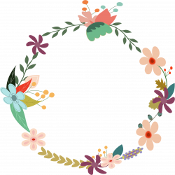 Vintage Floral Wreath by @GDJ, From PDP, with love., on @openclipart ...