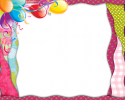 birthday border png - Google Search | CLIPART - BIRTHDAY | Pinterest ...