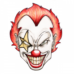 Deranged, twisted, psychotic, lunatic clown | Lunatic Clowns ...