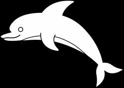 jumping-dolphin-outline-dolphin-clipart-9czGrdgcE.png | Askartelut ...