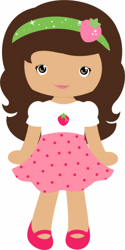 Moranguinho - grafos-Strawberrygirl11.png - Minus | ideas fresita ...