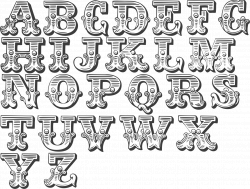 A handy collection of Western/Circus type fonts | Typography and ...