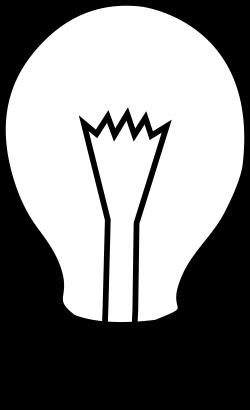 Light Bulb Clip Art Black And White Vintage | Clipart Panda - Free ...