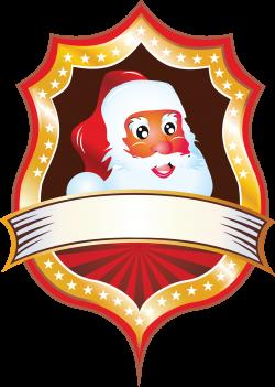 CHRISTMAS SANTA | CLIP ART - BLANK SIGNS - CLIPART | Pinterest ...