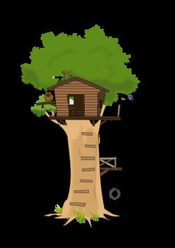 free clipart House Cartoon | Free Tree House Clip Art | Cartoon ...