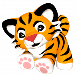 Cute Tiger Clipart at GetDrawings.com | Free for personal use Cute ...
