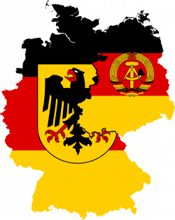 West Germany and East Germany | Flag Maps | Pinterest | East germany