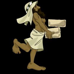 Hebrew slave in Egypt.   Bible kids clipart   Pinterest   Bible ...