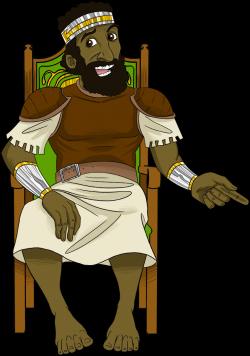 King Saul. | Надо попробовать | Pinterest | Sunday school, Children ...