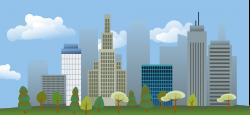 Public Domain Clip Art Image | City skyline | ID: 13533731419553 ...