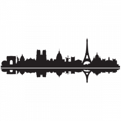 Sticker Skyline Paris | Pinterest | Silhouettes, Stenciling and Cricut