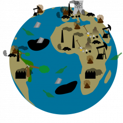 28+ Collection of Polluted Earth Clipart | High quality, free ...