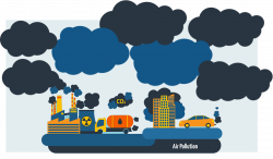 28+ Collection of Air Pollution Clipart Png   High quality, free ...