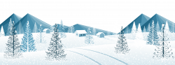 Winter Ground with Trees PNG Clipart Image | Gallery Yopriceville ...