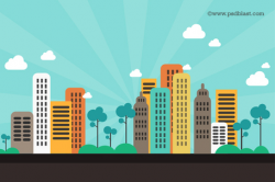 Cityscape Background Clipart