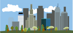 City-skyline Clip Art at Clker.com - vector clip art online ...