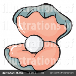 Clam Clipart #1132109 - Illustration by Graphics RF