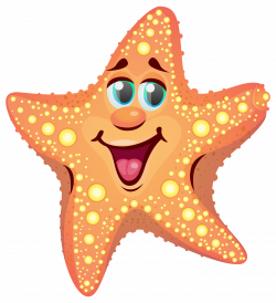 Cartoon Starfish PNG Clipart Image | Guppy... | Pinterest | Cartoon ...