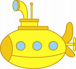 Cute Yellow Submarine | sara | Pinterest | Submerged vbs, Clip art ...