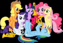 Ponies with Instruments by supermatt314 on DeviantArt
