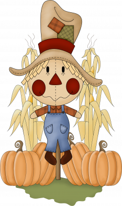 SCARECROW * | CLIP ART - FALL / AUTUMN - CLIPART | Pinterest ...