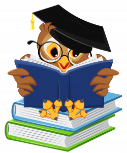 Owl with School Books PNG Clipart Picture   pergamano   Pinterest ...