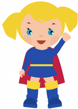 Female superhero clipart clipart clipartcow   Supergirl party ...
